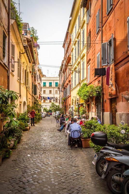 le trastevere un des plus beaux quartiers de rome. Black Bedroom Furniture Sets. Home Design Ideas